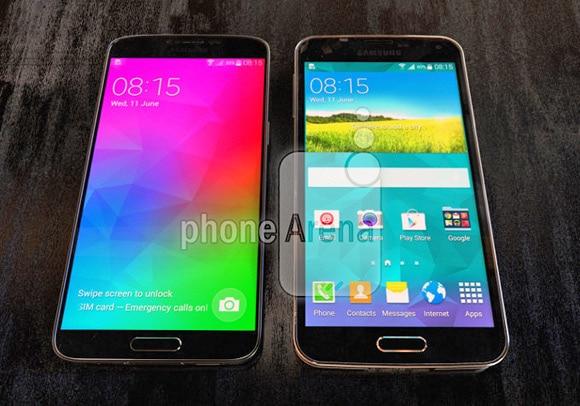 مقارنة بين سامسونج Galaxy F وسامسونج s5