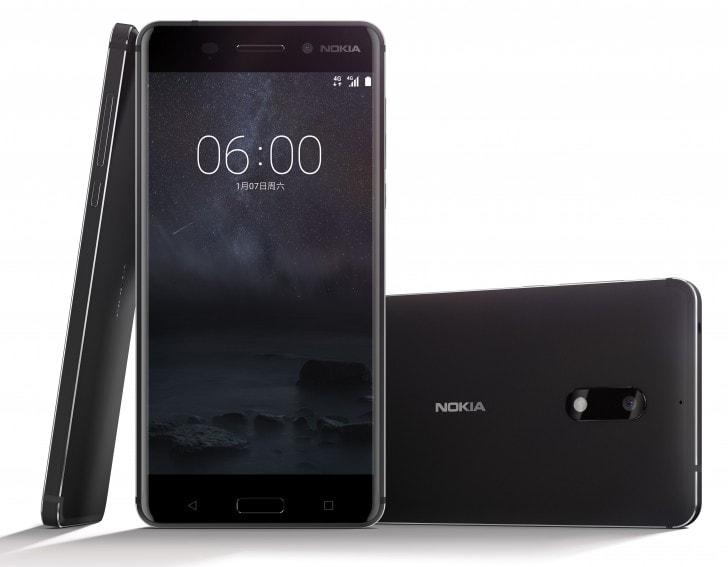 """شركة نوكيا تعلن رسمياً عن هاتف نوكيا ٦ """" Nokia 6 """" بنظام أندرويد وبشريحتين"""