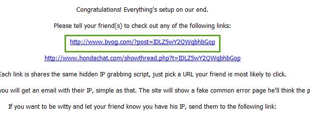شرح كيف يمكنك معرفة IP الفيس بوك لأي صديق - FaceBook شروحات
