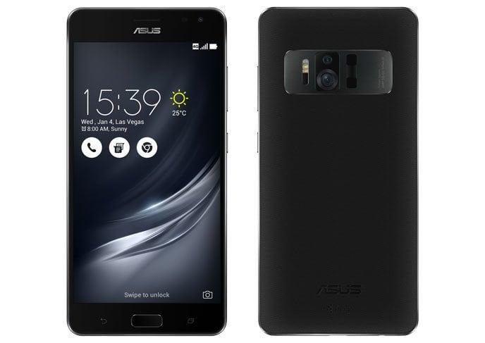 Asus Zenfone AR اول هاتف من شركة أسوس بذاكرة وصول عشوائى 8 جيجابايت رام