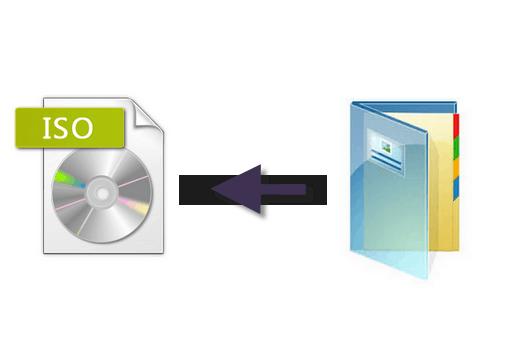 كيفية تحويل ملفات الويندوز الى صيغة ISO