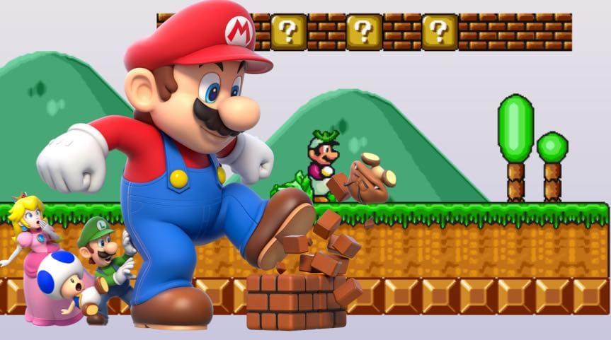 العاب ماريو - لعبة ماريو القوي  4b3e47d24b