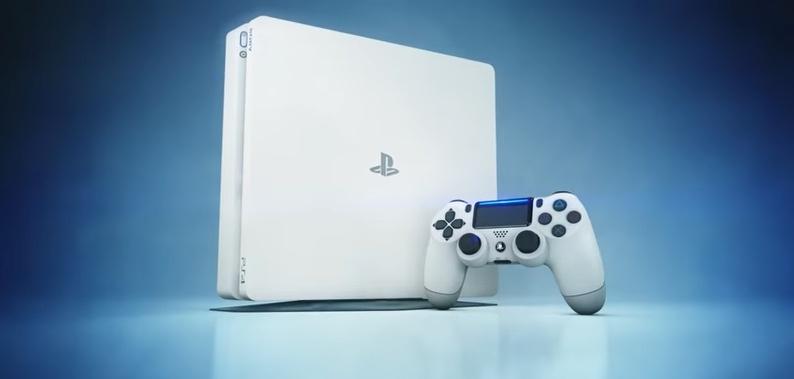 تأكيد إطلاق سوني لجهاز PS4 Slim باللون الأبيض قريباً