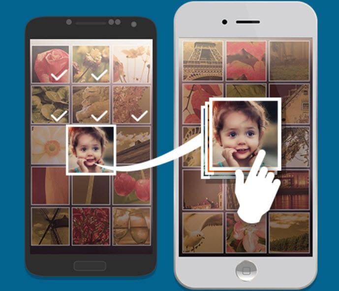 طريقة نقل الصور والفيديو من الاندرويد الى الايفون والعكس بإصبعك