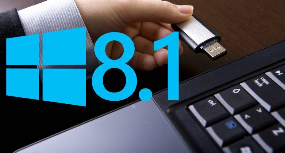 تعلم طريقة تثبيت ويندوز 8 و 8.1 باستخدام فلاشة اليو اس بي