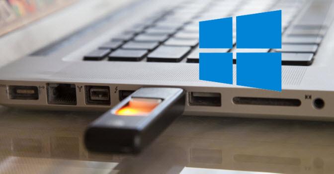 تثبيت التطبيقات على الفلاشة USB بدلاً من الهارد فى ويندوز 10