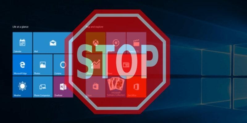 ايقاف البرامج التي تعمل في الخلفية ويندوز 10 [الطريقة الثانية]