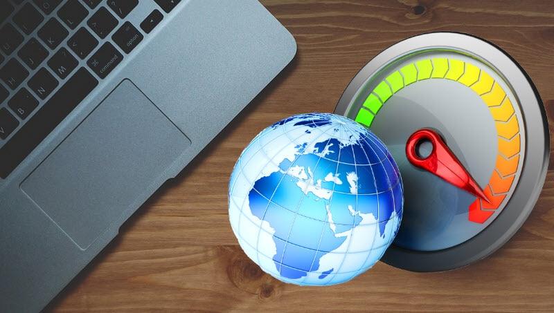 طريقة قياس كفاءة خط التليفون الارضى وقياس سرعة الانترنت الحقيقية بدون برامج