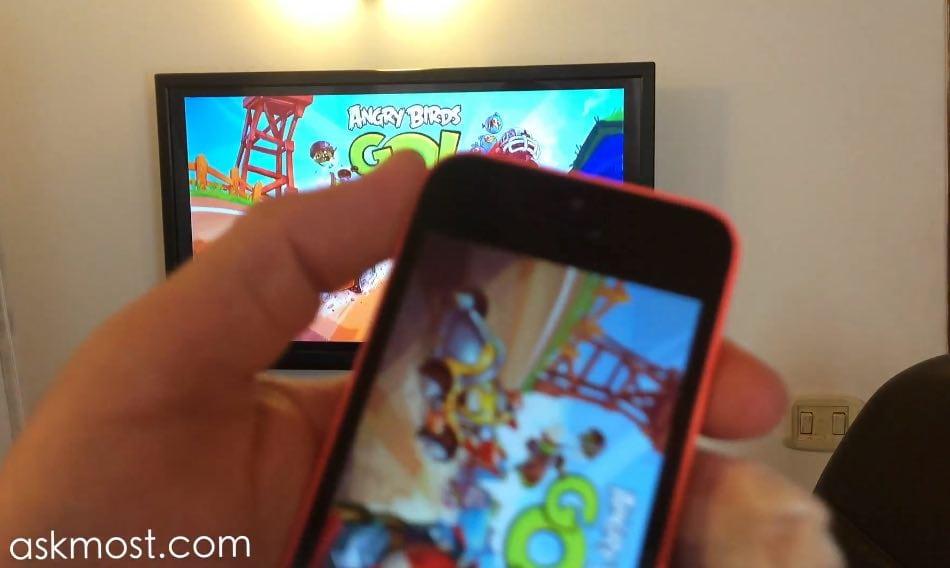 شرح آبل تي في وطريقة الإستخدام وكيفية تشغيل الأفلام والألعاب من الهاتف علي التلفاز