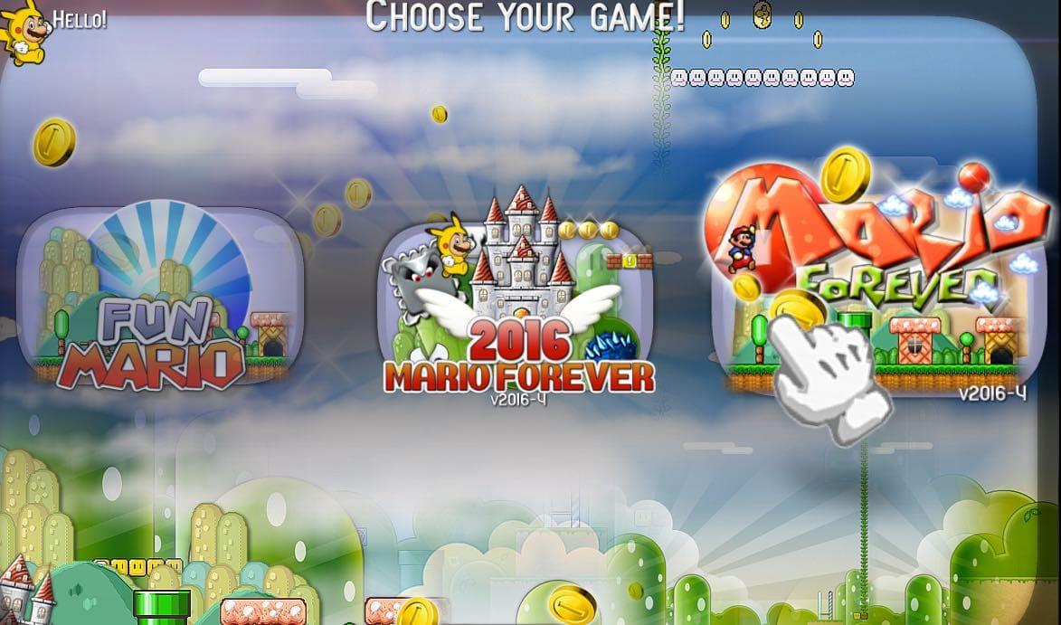 لعبة ماريو للكمبيوتر بالدراعات