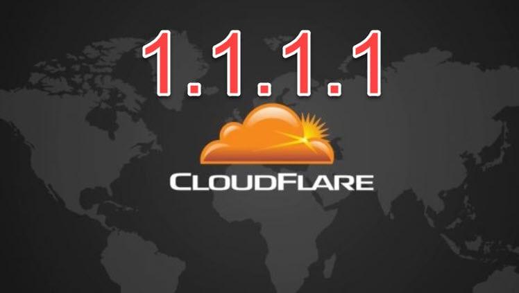 تسريع تصفح الإنترنت عن طريق خدمة dns الجديدة من شركة كلاود فلير