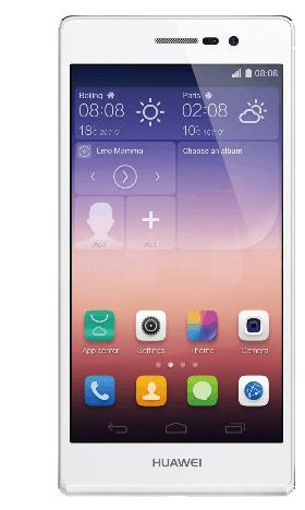 هواوى p7 واحدة من أفضل وأنحف الهواتف الذكية