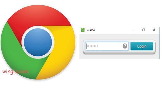 كيفية قفل جوجل كروم بباسورد ؟