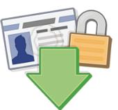 طريقة انشاء نسخه احتياطيه من حسابك على الفيس بوك
