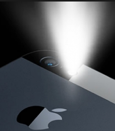 تشغيل الكشاف للايفون بدون برامج flashlight ios 7