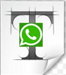 تكبير خط الواتس اب للايفون, للاندرويد بالصور change font size whatsapp