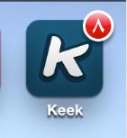 طريقه تحديث البرامج في الايفون والاندرويد بالصور ' تحديث كيك ' | keek update for android