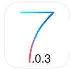 طريقة تحديث الايفون ios 7.0.3 بالصور مع توضيح مميزات التحديث   ios 7.0.3 release date