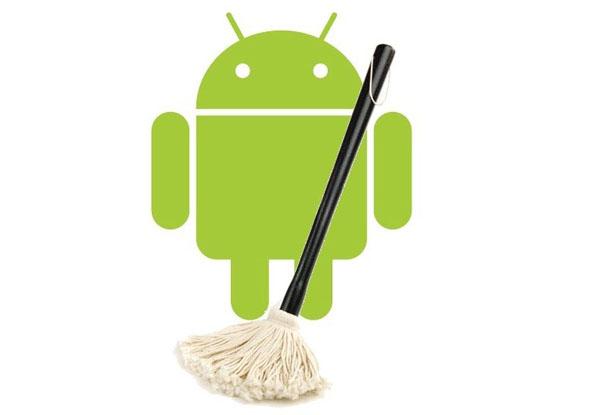 تنظيف الاندرويد من الملفات الزائدة clean android internal storage