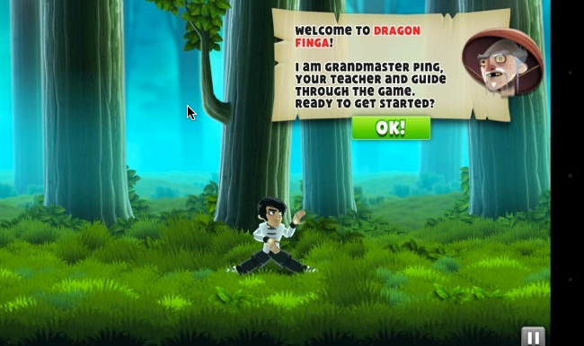 لعبة اكشن للاندرويد Dragon Finga لعبة حركة لاجهزة اندرويد مجانا