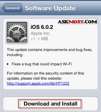 update ios 6.0.2 -1