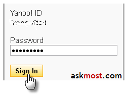 add mobile number to yahoo account (1)