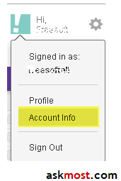 add mobile number to yahoo account