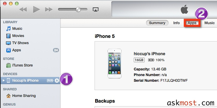 تحديث الأيفون بدون حذف البرامج
