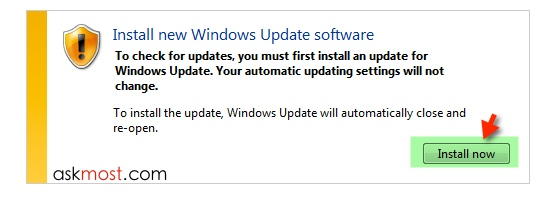 update windows 7 -5