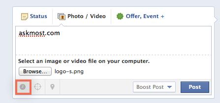 النشر التلقائي على الفيس بوك