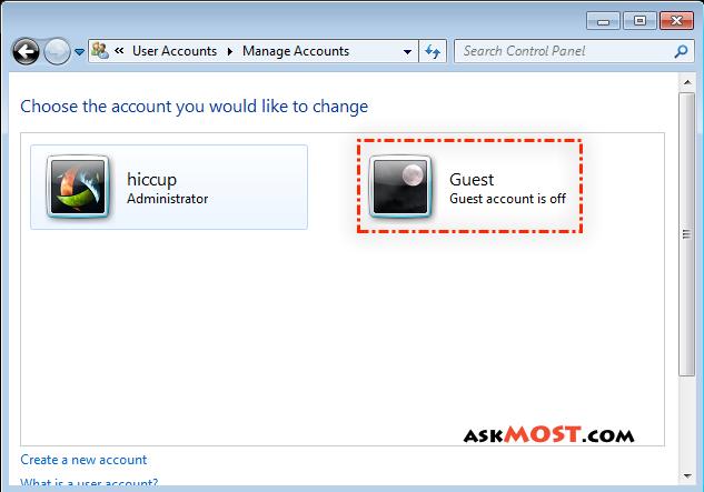 حساب guest-٣