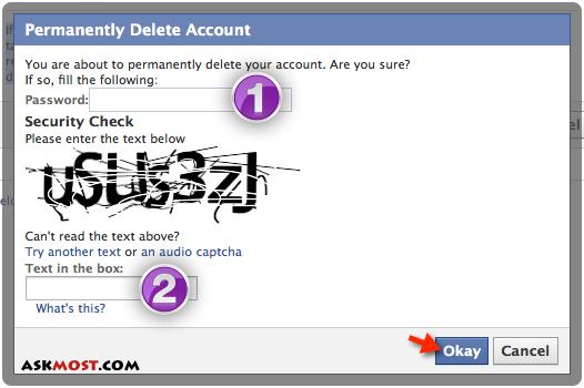 لینک حذف اکانت فیس بوک-2