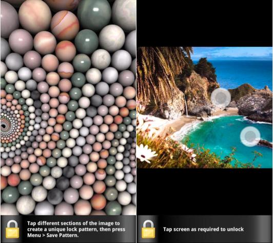 طريقة تغير صورة و خلفية نمط القفل للاندرويد Photo Lock Screen
