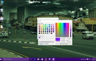 تغير الالوان في ويندوز 10 لون شريط المهام لون قائمة ابدأ ولون حواف النوافذ