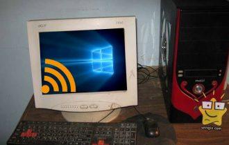 تشغيل الواي فاي في الكمبيوتر المكتبي الذي لا يدعم وجعله يستقبل wireless