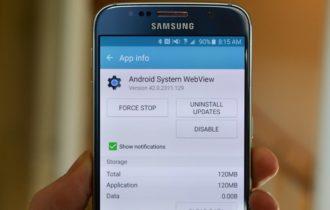 ما هو android system webview  وكيفية إلغاء تثبيته