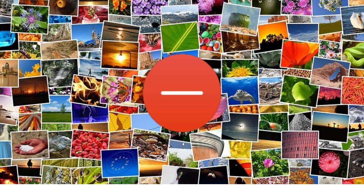 حذف البوم الصور من الايفون