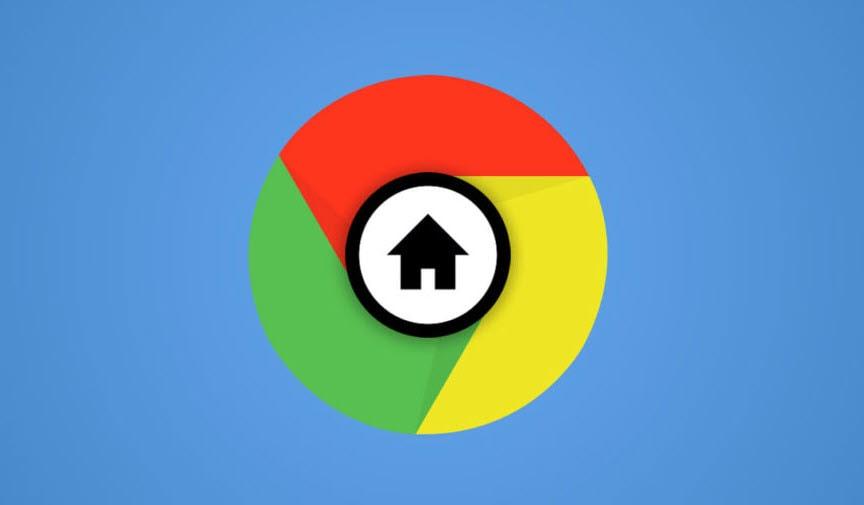 جعل جوجل الصفحة الرئيسية لجوجل كروم