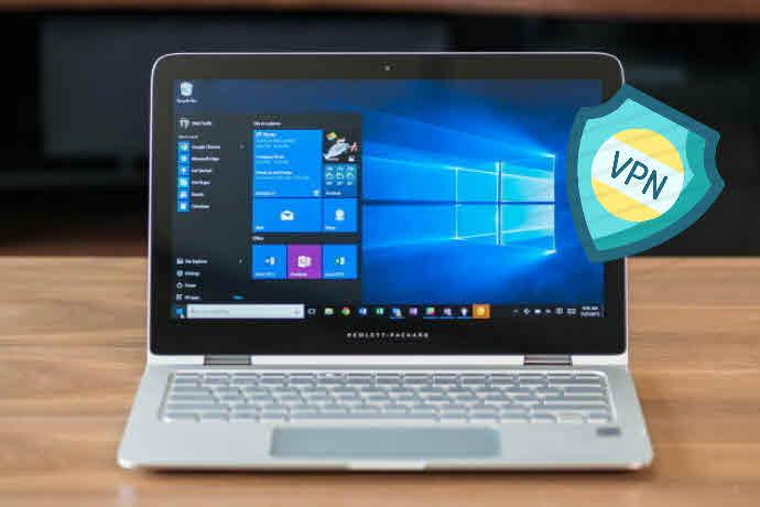 طريقة عمل vpn للكمبيوتر ويندوز 10