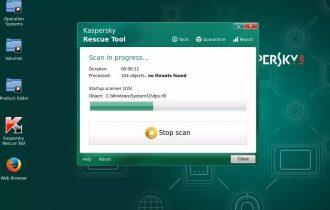 حذف فيروسات الكمبيوتر بأستخدام الفلاشة Kaspersky Rescue Disk