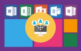 كيفية المشاركة والعمل الجماعي علي ملف وورد او إكسل في Office