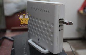 كيفية تشغيل الفلاشة USB على الراوتر we لمشاركة الملفات فى الشبكة