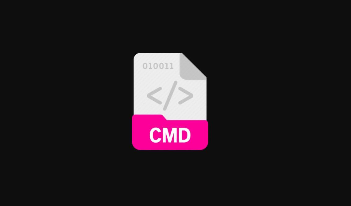 استخدام موجه الاوامر cmd لفتح الملفات علي الكمبيوتر