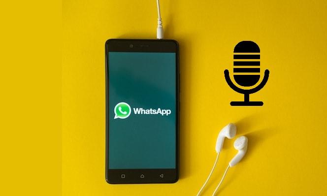 كيفية الاستماع إلى الرسائل الصوتية فى الواتس قبل إرسالها