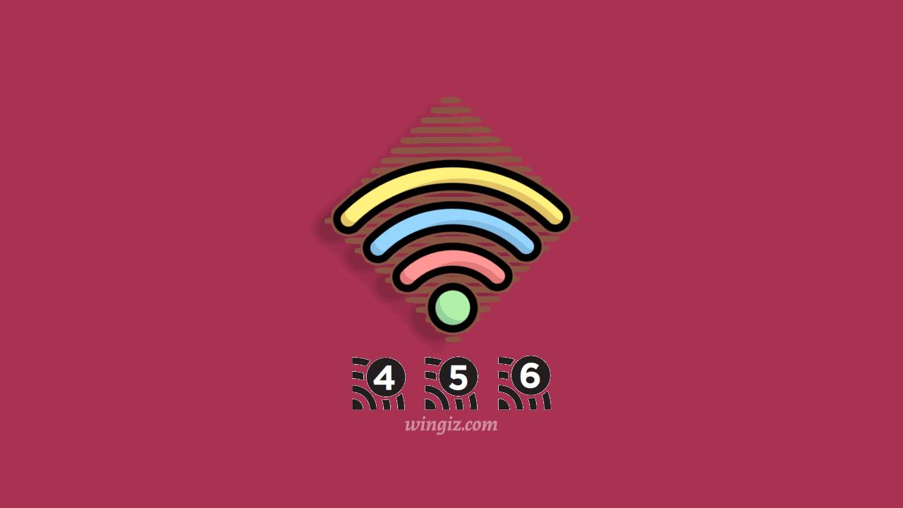 الفرق بين wifi 6 و wifi 5 في سرعة نقل البيانات