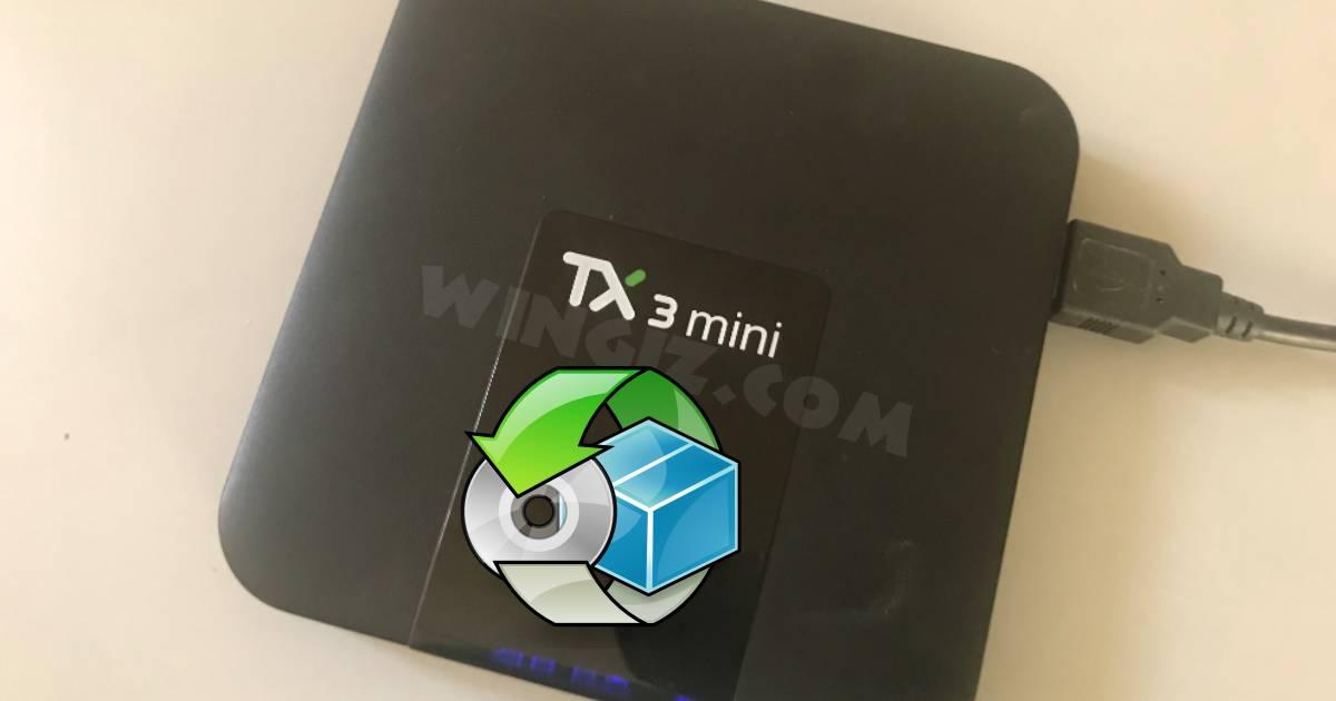 خطوات عمل سوفت وير لجهاز اندرويد tv box شرح بالصور