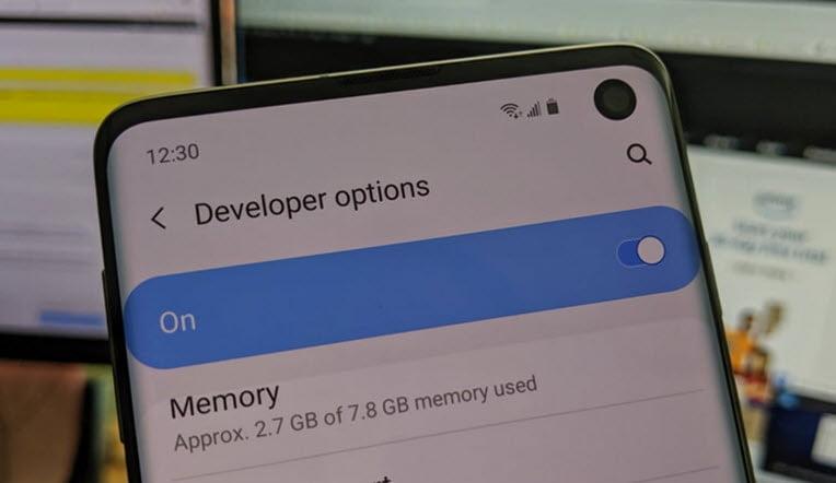 أهم مميزات خيارات المطور Developer Options