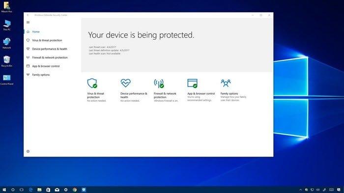 طريقة ايقاف Windows Defender في ويندوز 10 بشكل مؤقت