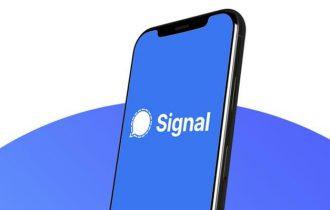 إرسال رسالة بدون حفظ الرقم في سيجنال – Signal