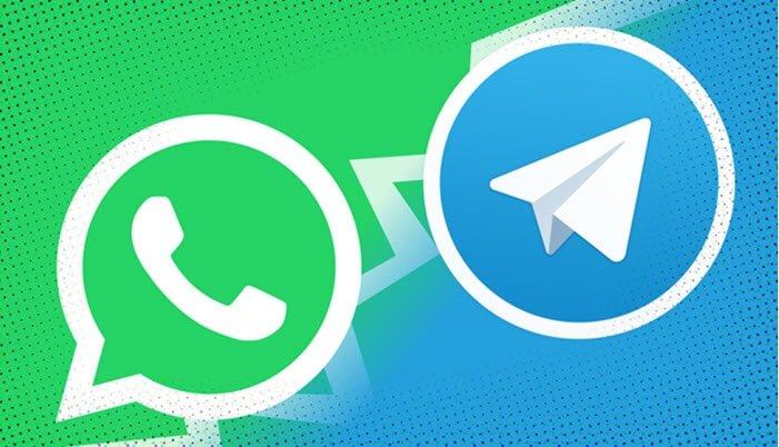 كيفية نقل محادثات الواتس إلى تيليجرام للآيفون بالصورة
